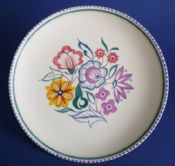Vintage Poole Pottery CS Pattern Plate c1960